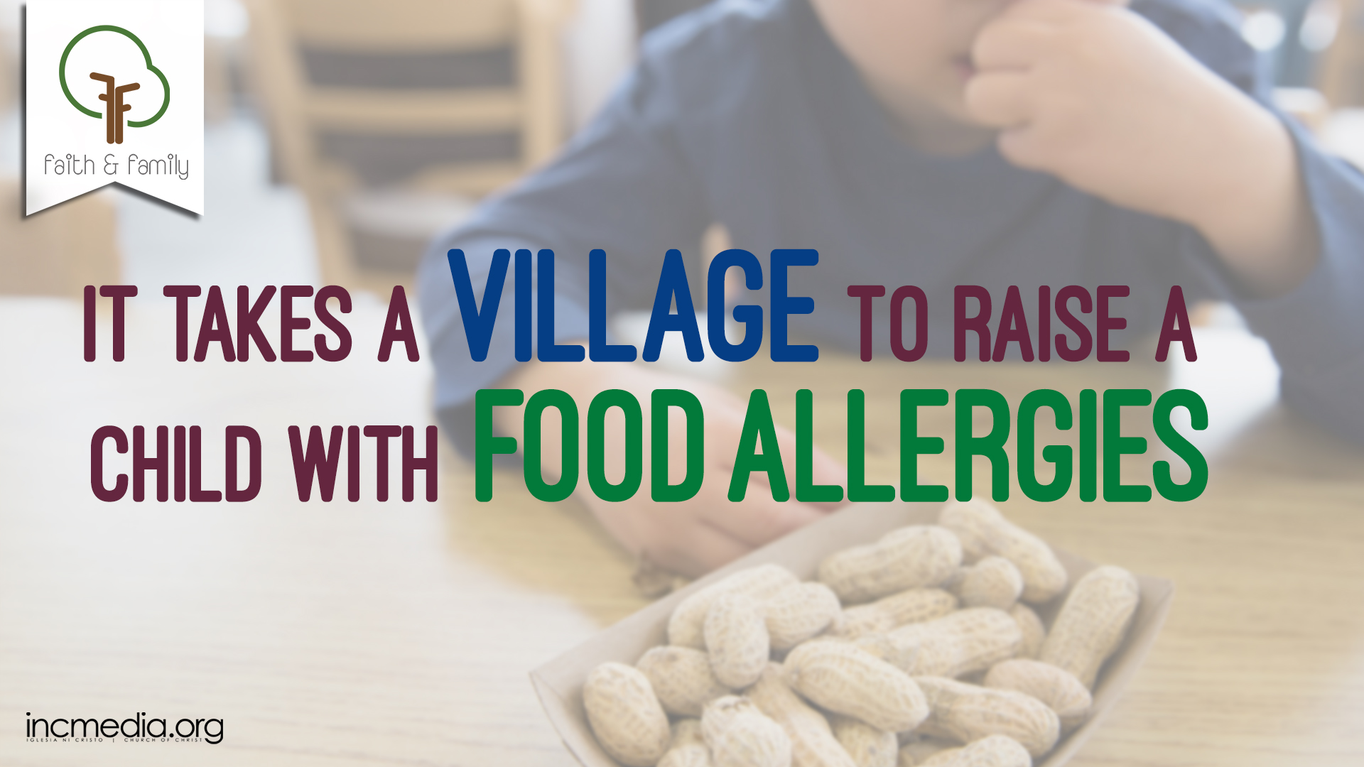 It Takes a Village to Raise a Child with Food Allergies