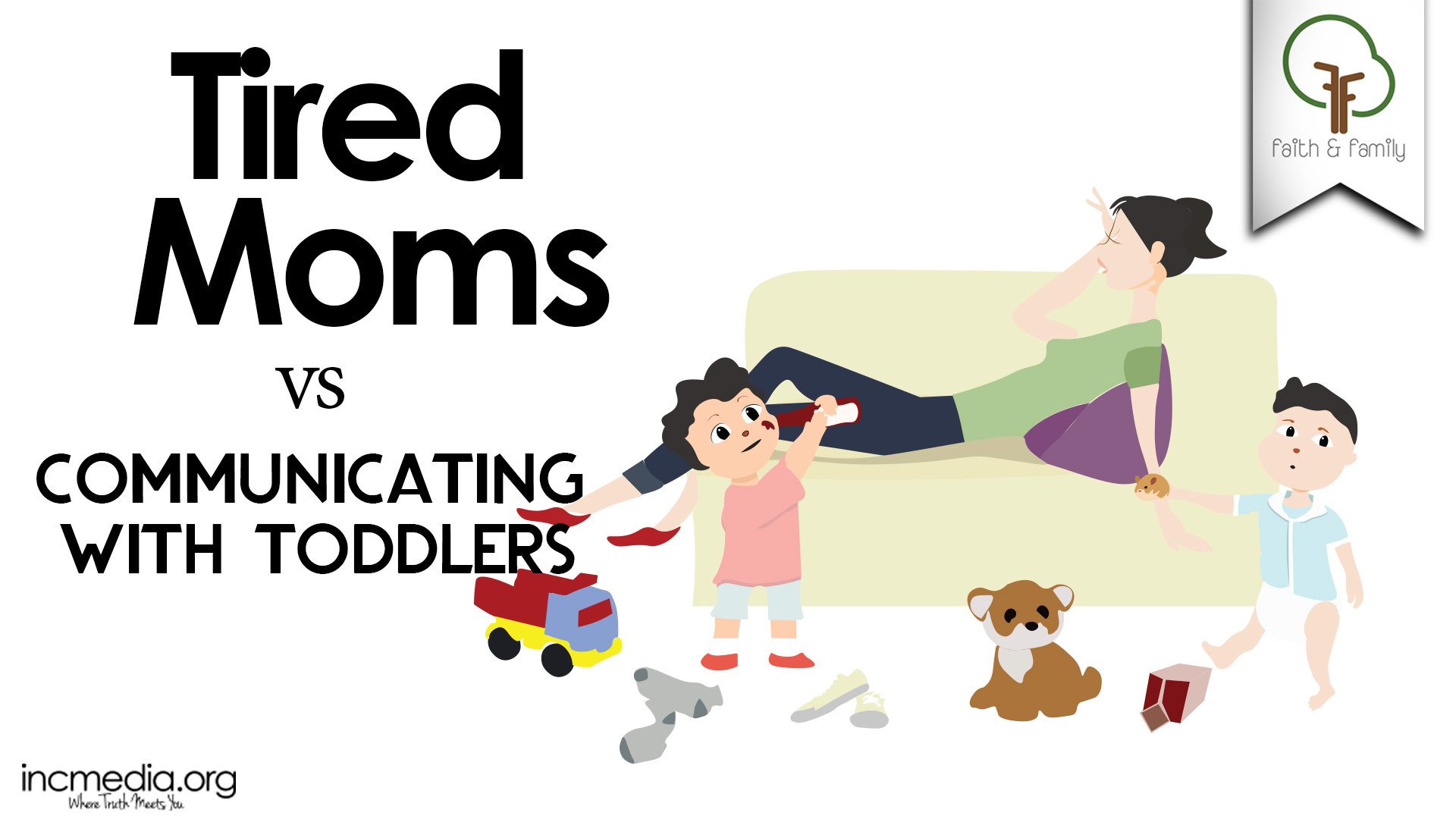 Tired Moms vs Communicating with Toddlers