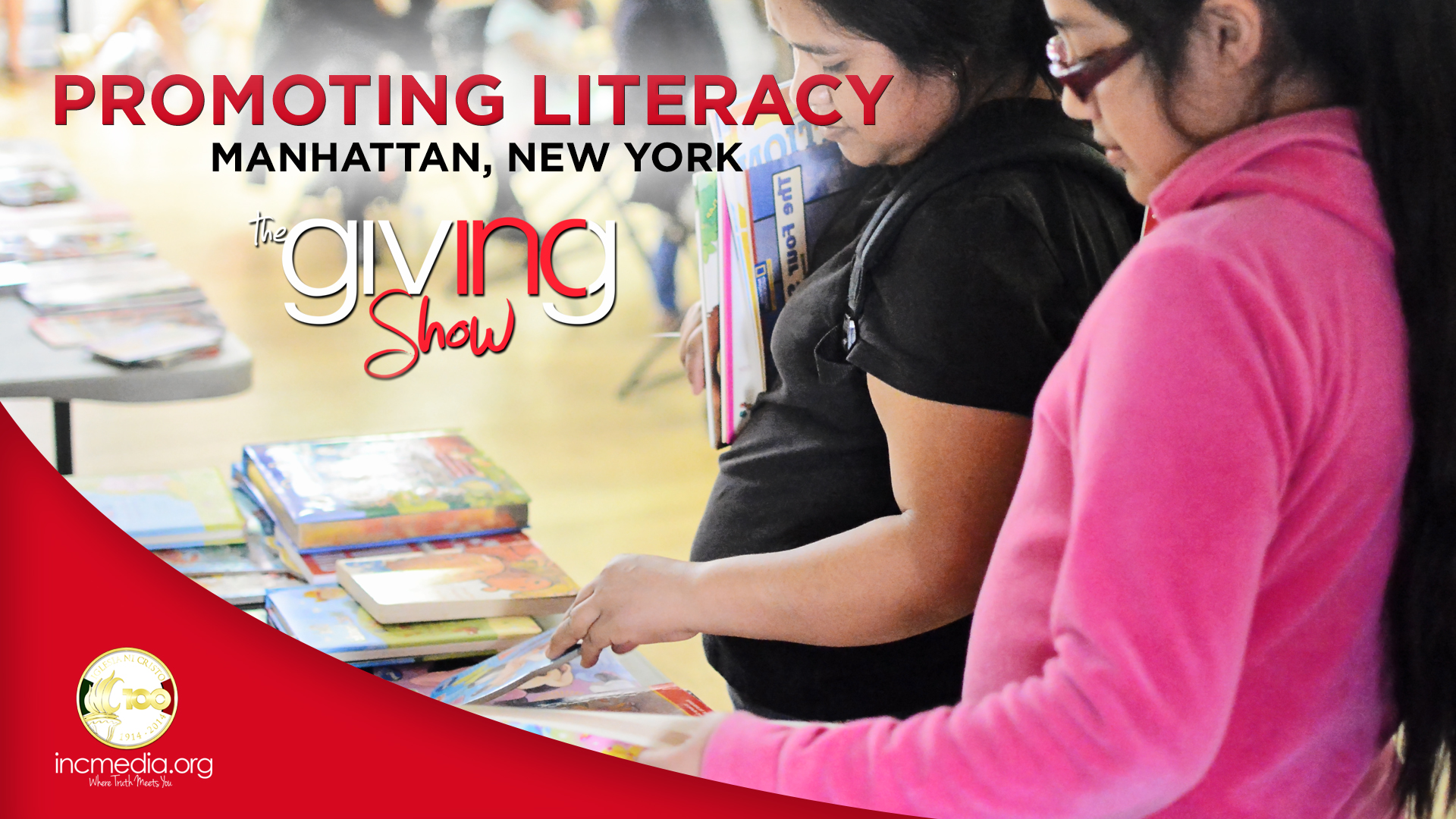 Encouraging Literacy in Manhattan, New York
