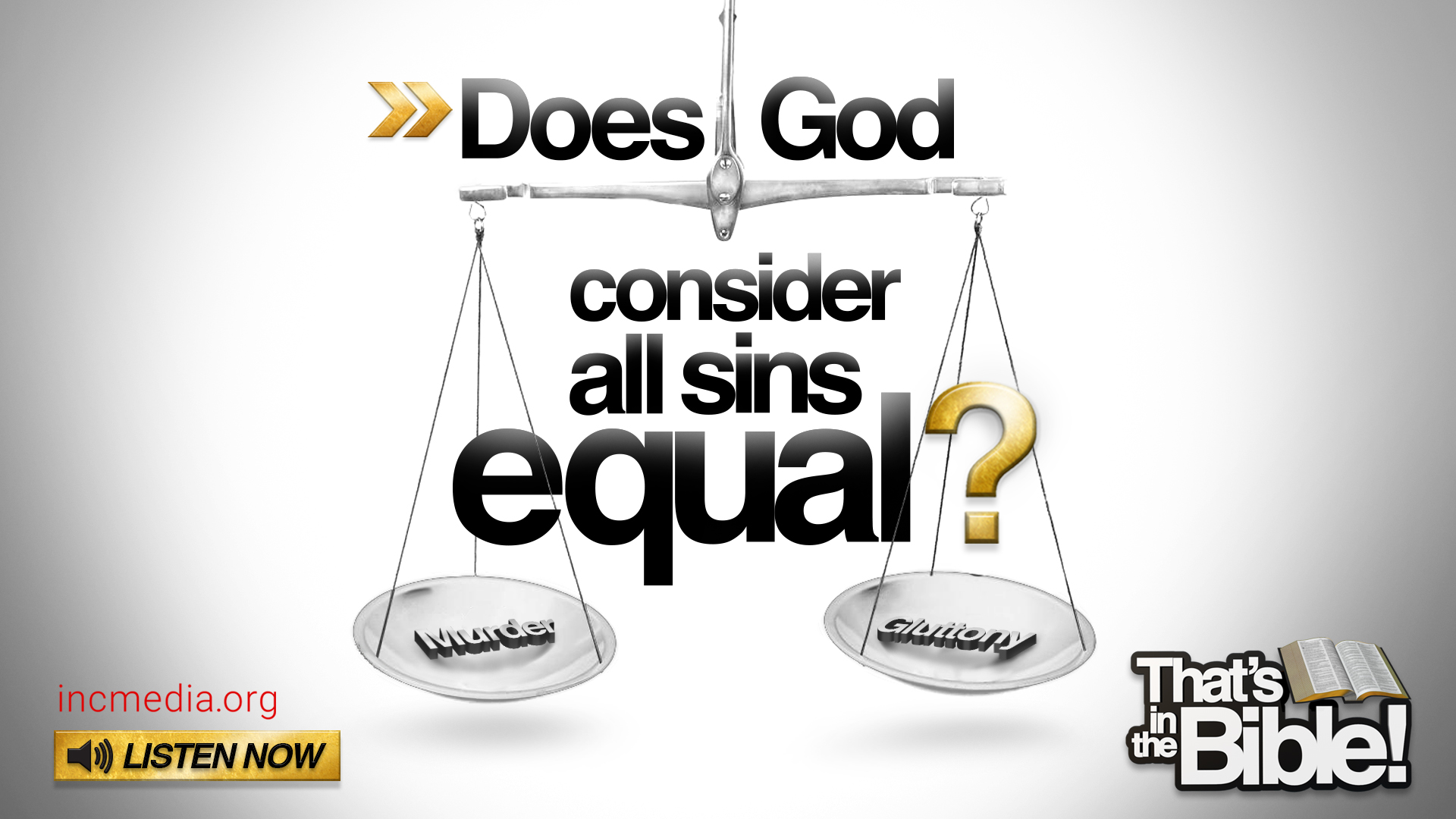 Are All Sins Equal?