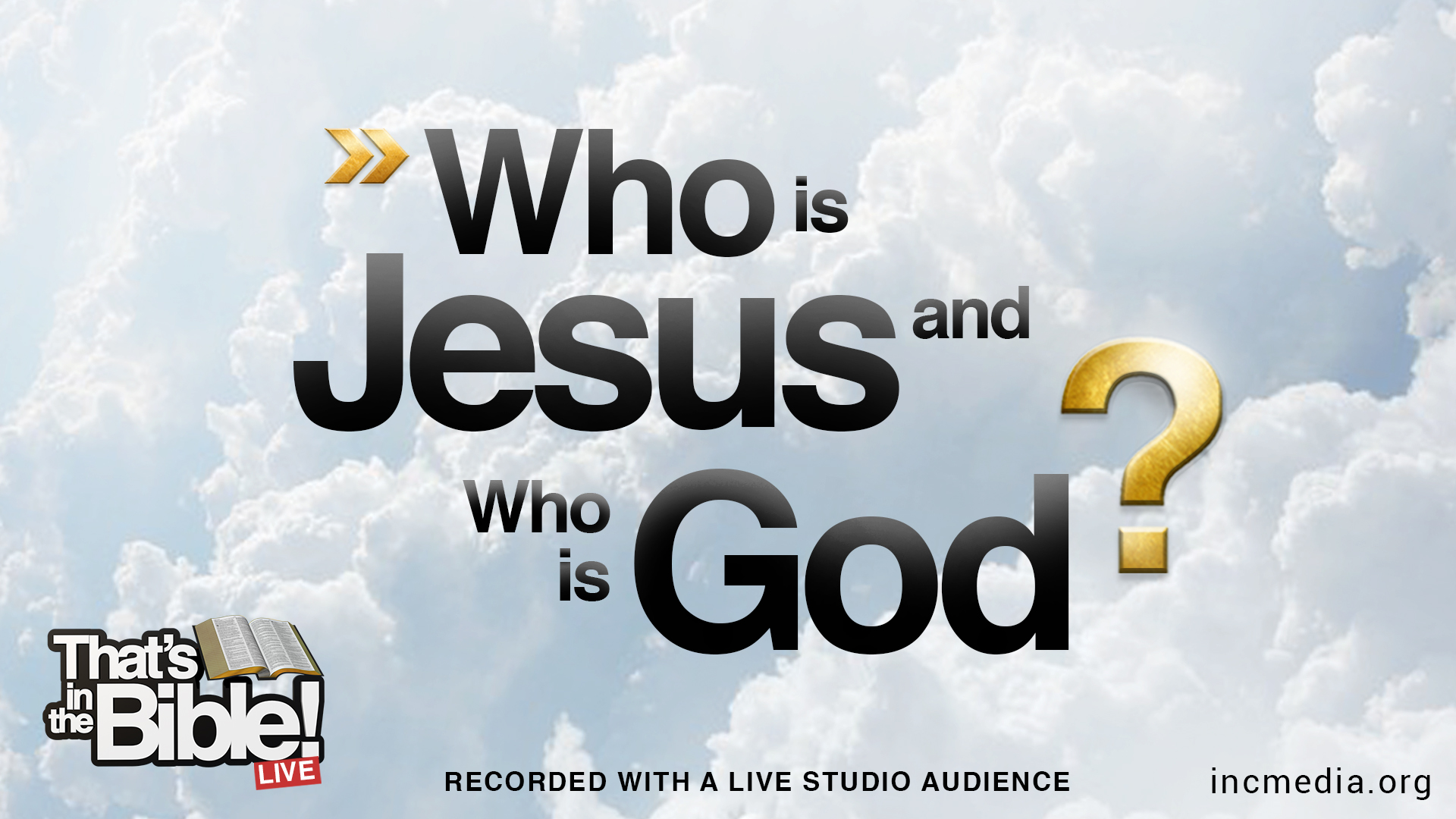 Who Is Jesus, and Who Is God?
