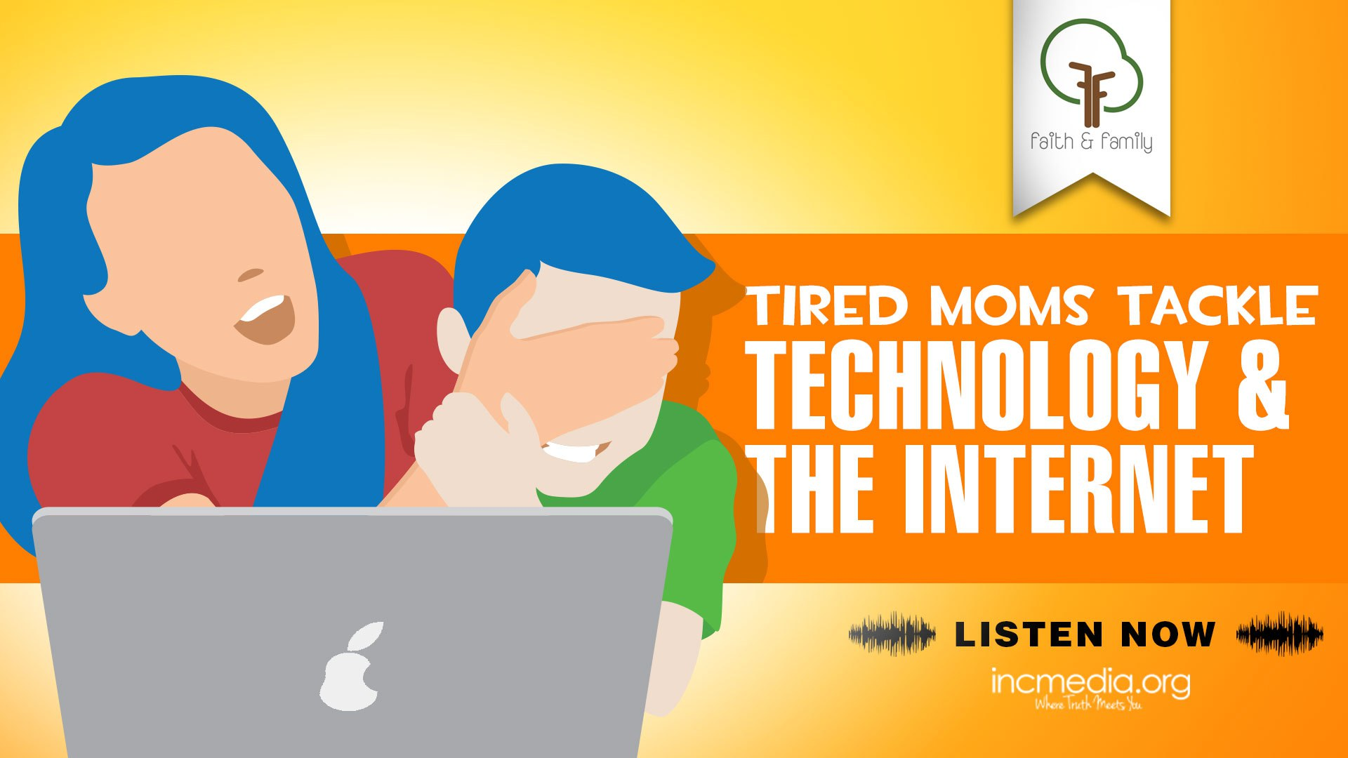 Tired Moms Tackle Technology and the Internet
