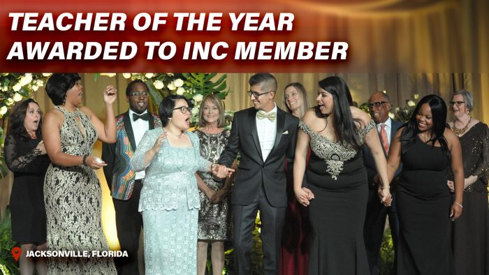Teacher of the Year Awarded to INC Member