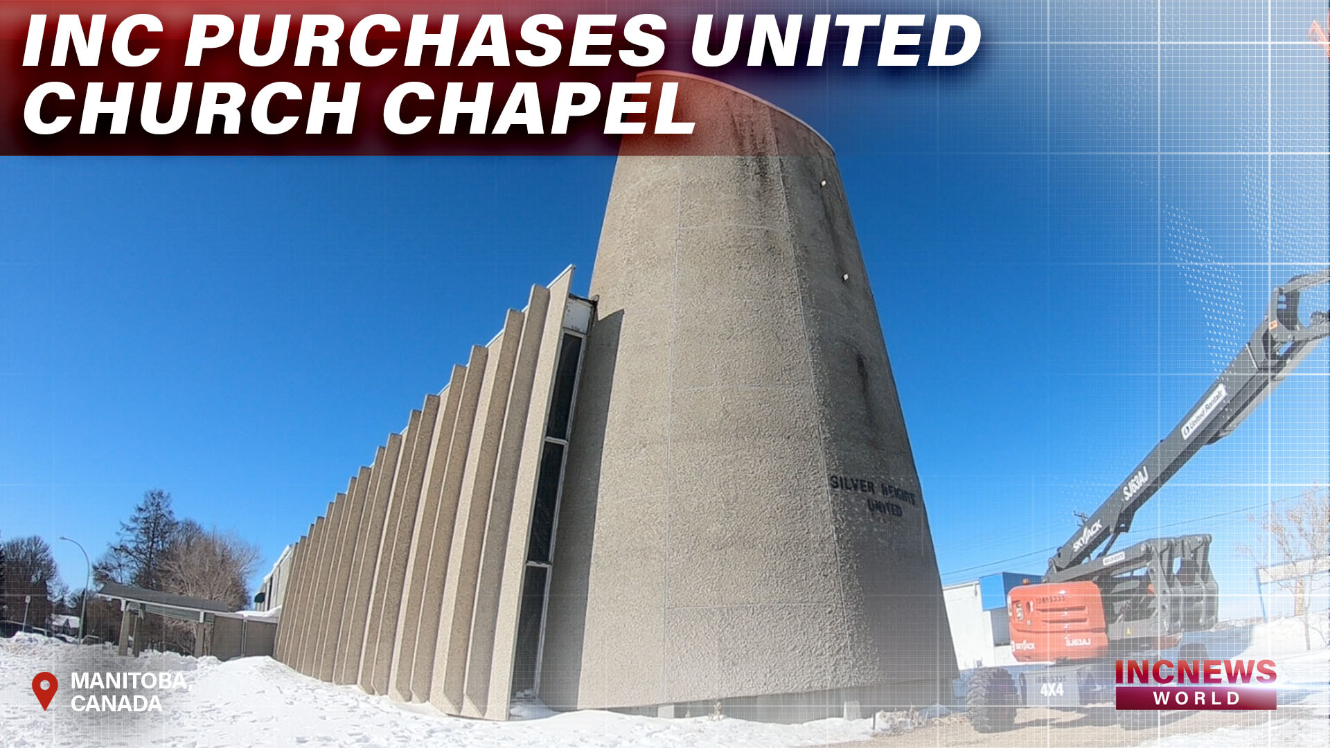 INC Purchases United Church Chapel