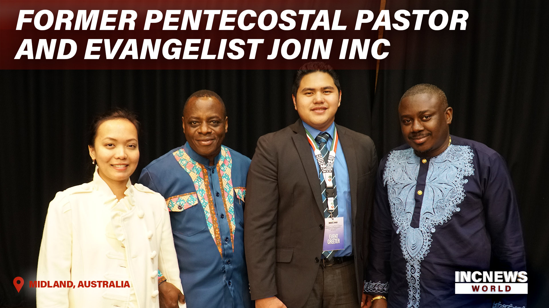 Former Pentecostal Preacher and Evangelist Join INC