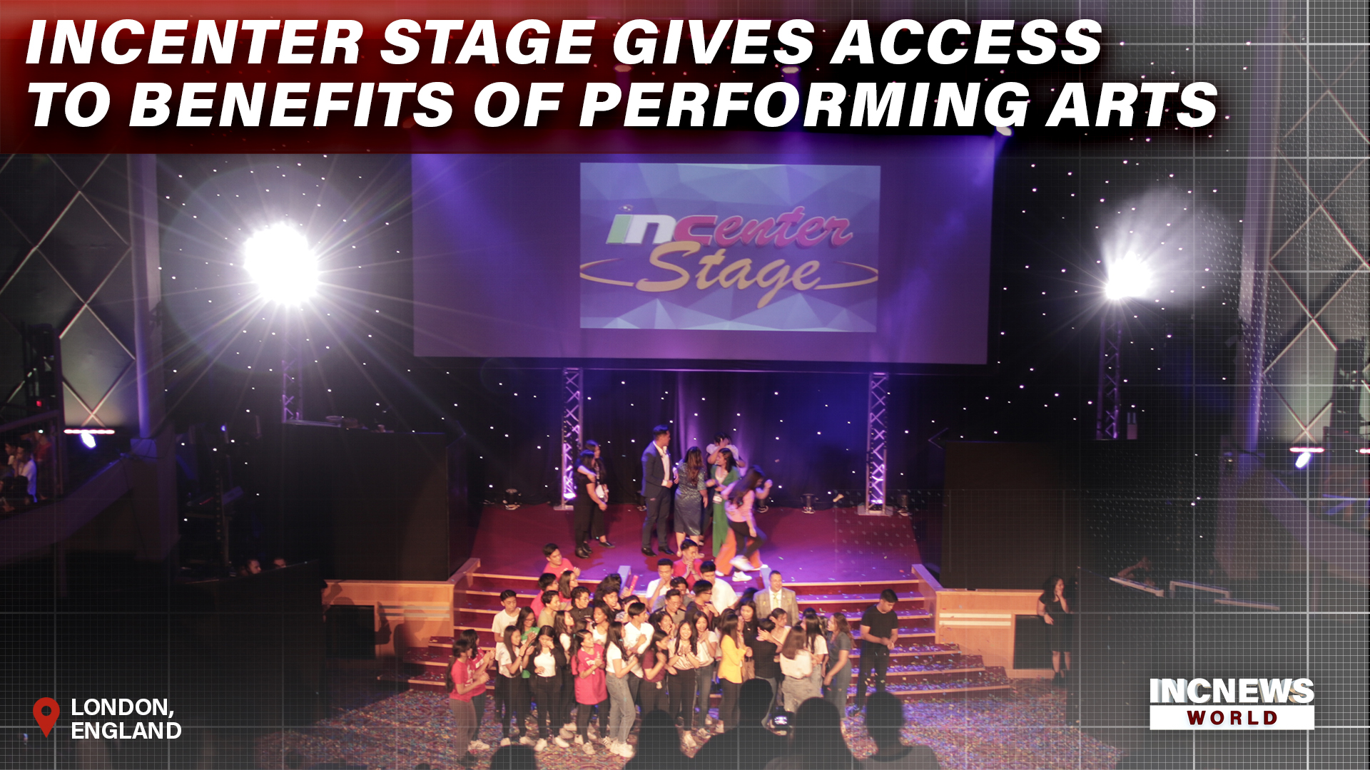 INCenterstage Gives Access to Benefits of Performing Arts